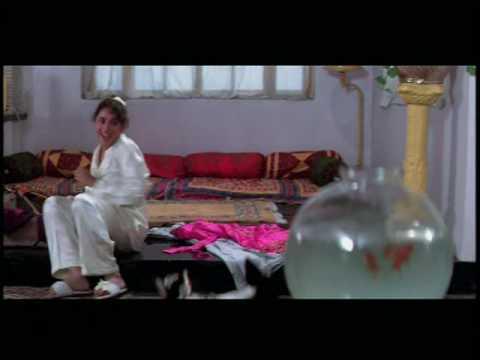 Madhuri Dixit in Chocolate Limejuice Icecream - Hum Aapke Hain Koun