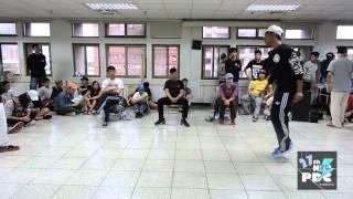Locking vol.32  楊森 v.s 李亭劭(win)   20151101 College High 臺大校內Audition