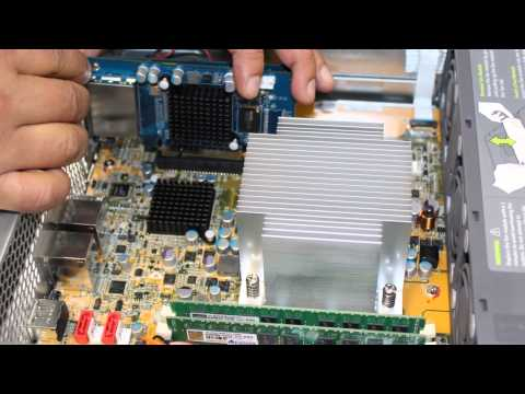 QNAP REXP-1200U-RP and REXP-1600U-RP - Installing SAS Card in NAS Head