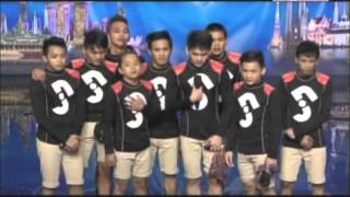 Junior New System - Audition on Asia's Got Talent