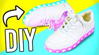 DIY Light up shoes! DIY ideas you NEED to try!
