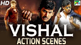 Vishal Back To Back Action Scenes | Marte Hai Shaan Se | Full Hindi Dubbed Movie