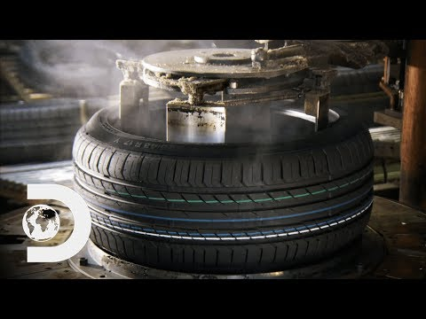 CAR TYRES How It s Made