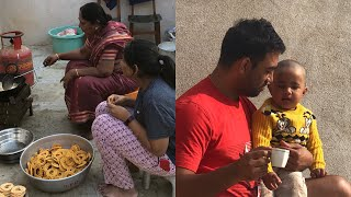 A Day at My In-laws House Vlog/ Telugu vlogs in Hyderabad/ poojitha reddy