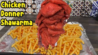 Homemade Chicken Donner/Shawarma Restaurant Style By Yasmin's Cooking
