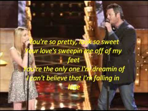 Blake Shelton and Danielle Bradbery Timber I m Falling in Love The Voice 4 Top 3