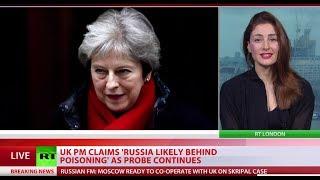 Skripal case: Russia's response