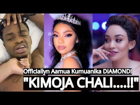 Baada ya Video Za DIAMOND Kitandania Na Anayedaiwa Kuwa ZARI! OFFICIALLYN Atupa MADONGO Kwa DIAMOND!