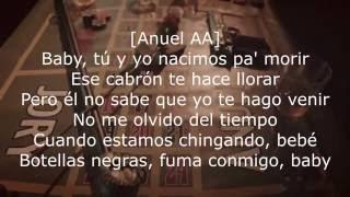 Anuel AA - Nacimos Pa Morir ft Jory (Letra )