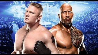 Brock Lesnar vs The Rock Wrestlemania 32 Promo  HD