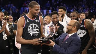 Kevin Durant wins the All-Star MVP | 2019 NBA All-Star Game