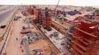 قطار الرياض | موجز لسير العمل بمشروع قطار الرياض - صفر1437هـ