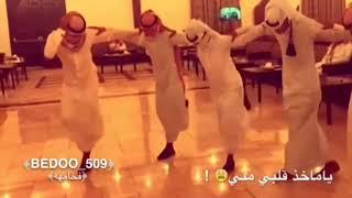 رقص خليجي على شيلات (ياماخذ كلبي مني)