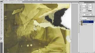 Adobe Photoshop tutorial - old photo restoration part 2