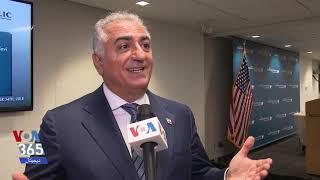 شاهزاده رضا پهلوی در گفتگو با صدای آمریکا: تلاش ما جلب اقدامات عملی برای کمک به مردم ایران است