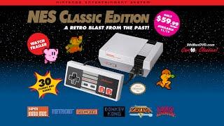 NES Classic Edition Mini Console Nov. 2016 - Nintendo Entertainment System Promo