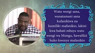 MITIMINGI # 224 NGUVU YA KUMILIKI MAFANIKIO