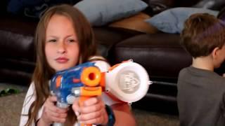 [Nerf Battle] Adriana, The Babysitter