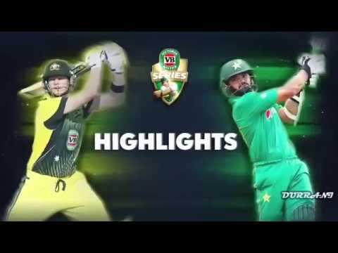 Xxx Mp4 Australia Vs Pakistan 2nd ODI 2017 Full Highlights Pak V Aus 2nd ODI 15 Jan 2017 3gp Sex