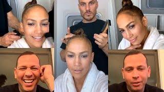Jennifer Lopez & Alex Rodriguez | Instagram Live Stream | 3 March 2019