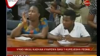 Sakata La Wanafunzi Hewa Kulipwa Mikopo Lachukua Sura Mpya