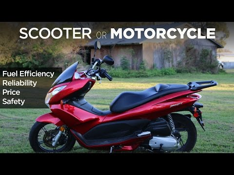 Why I Love My Scooter Scooter vs. Motorcycle vs. Car
