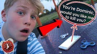 NEVER TALK TO SIRI IN A HAUNTED PLAYGROUND AT 3AM! SO CREEPY OMG!