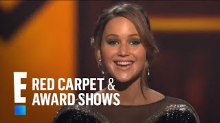 The People's Choice for Favorite Movie Actress is Jennifer Lawrence