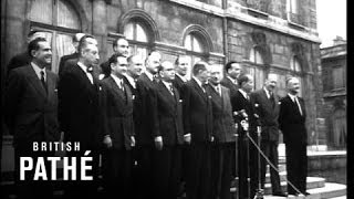 New French Cabinet  Under Faure (1955)