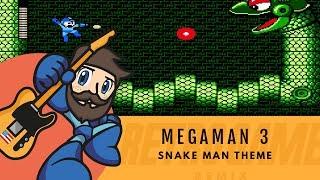 Mega Man 3 - Snake Man Theme    Retro Game Remix