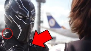 Captain America Civil War Airport Fight Scene Breakdown -  Black Panther Scenes