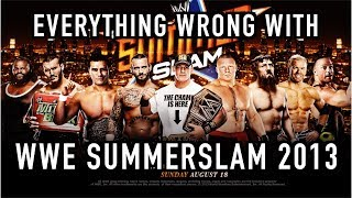 Episode #361: Everything Wrong With WWE SummerSlam 2013