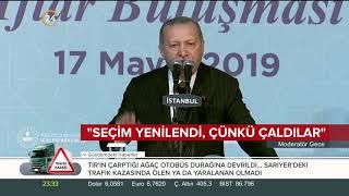 Başkan Erdoğan: Açık ve net oyları çaldılar