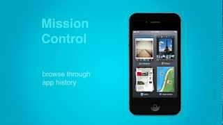 iOS interface concept