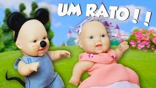 A Princesa e o Ratinho || Contos da Malu - Lilly Doll