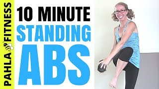 * Standing ABS HIIT with a DUMBBELL | Quick Balance + Core Strength Home Workout