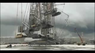 The Biggest Crane in the World Mega Machine Liebherr