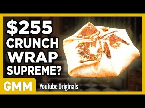 255 Taco Bell Crunchwrap Supreme FANCY FAST FOOD