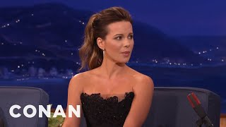 Kate Beckinsale: Transvaginal Mesh Helped My American Accent  - CONAN on TBS