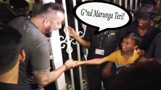 Sanjay Dutt ABUSES A Little Boy In Public!