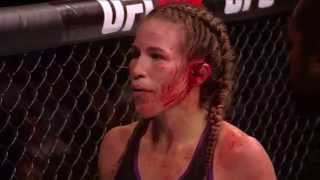 Female UFC Fighter's Ear Explodes