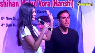 Uncut : Katrina Kaif & Akshay Kumar at the world
