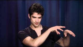 Tyler Posey Howling for 'Teen Wolf' Season 2