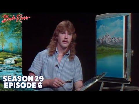 Bob Ross Mountain Lake Falls Season 29 Episode 6