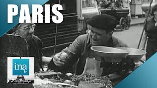 Paris 1965 à l'heure du déjeuner   Archive INA