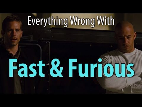 Everything Wrong With Fast & Furious the 4th one
