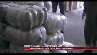 Kapen 1.5 tonë marijuanë në Itali, prangosen skafistët shqiptarë - News, Lajme - Vizion Plus
