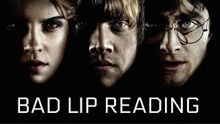 BAD LIP READING | HARRY POTTER AND THE PHILOSOPHER'S STONE | EPISODE 1: THE FIRST TRAIN RIDE