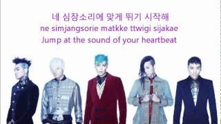 Big Bang - Fantastic Baby [Eng+Rom+Han] Lyrics
