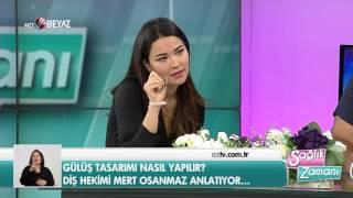 Diş Hekimi Mert Osanmaz - Beyaz TV Sağlık Zamanı 04.03.2017
